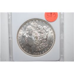 1883-O Silver Morgan $1; MCPCG Graded MS63; EST. $60-80