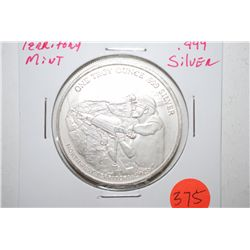 Northwest Territorial Mint Silver Round; Pan American Silver Corp.; .999 Silver 1 Oz.; EST. $30-40