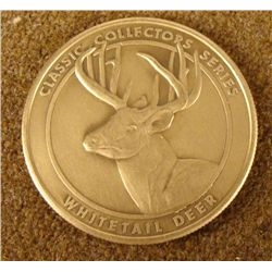 NRA/NATIONAL RIFLE ASSN COLLECTOR'S MEDALLION-BRASS