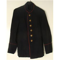WWII Nazi German Black Uniform Coat Extra Fein Buttons