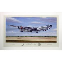 Aviation Art Six Turnin' and Four Burnin' Machat B-36