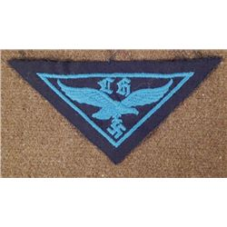 NAZI LUFTWAFFENHELFER YOUTH BREAST TRIANGLE ORIGINAL