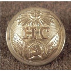 Massachusetts Highland Cadets H.C. Antique Button 1860