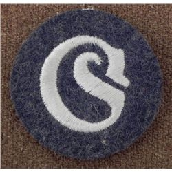NAZI SCHIRRMEISTER SPEC PATCH ORIGINAL