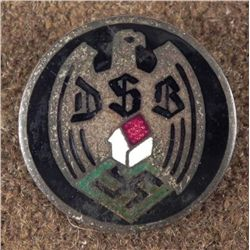 RARE NAZI DSB/GERMAN HOMEOWNER'S ASSOC. BADGE ORIGINAL