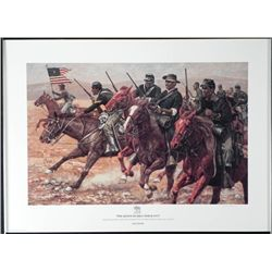 Don Stivers S/N The Redoubtable Sergeant Print