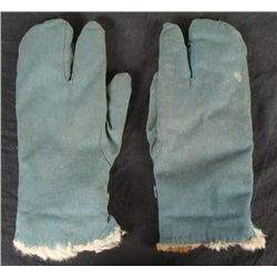 Pair of Luftwaffe German Airforce Fur-Lined Gloves
