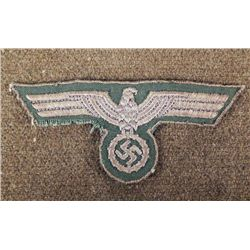 NAZI ARMY WEHRMACHT BREAST EAGLE FOR A UNIFORM