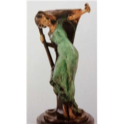 """Rhythm Dancer"" Bronze Sculpture - Villanis"