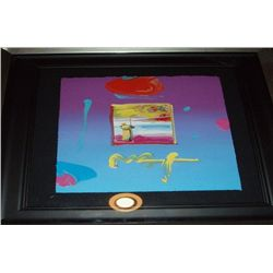 """Sage 2"" Peter Max Original Mixed Media"
