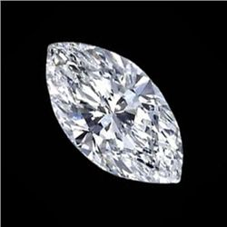 Diamond EGL Cert. Marquise 1.02 ct D, Si2