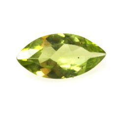 Natural 5.81ctw Peridot Marque 5x10 (6) Stone