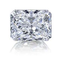 DIAMOND EGL CERTIFIED RADIANT 1.85 CTW E, SI2
