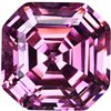 GT0611120005 RARE 2 Ct. Asscher cut VVS1 Pink Color BIA