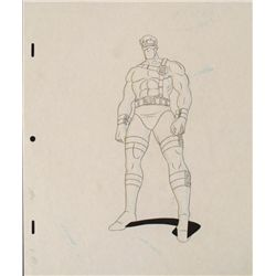 Original Drawing Cyclops X-MEN Animation Intimidator