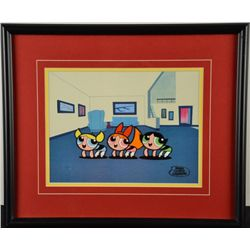 Powerpuff Girls Original Cartoon Production Cel Framed