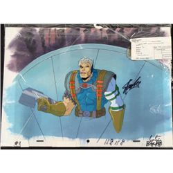 Orig X-Men Signed Stan Lee Cel Production Background