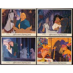 4 Hunchback of Notre Dame Original Lobby Cards Disney