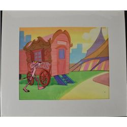 Pink Panther Original Production Cel & Drawing Circus