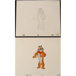 Drawing Cel Original Silence Tony the Tiger Animation