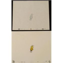 Bee Buzz Original Cel Animation Drawing Cheerios Full