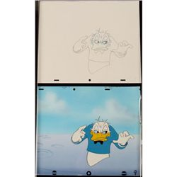 Creep Orig Background Cel Donald Duck Drawing Animation