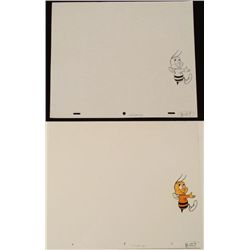 Drawing Cel Orig Walk Up Walls Cheerio Animation Honey