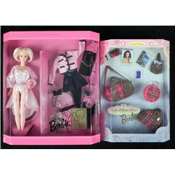 2 Barbie Millicent Roberts Sets Matinee Jet Set MIB