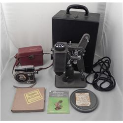 Revere Eight Magazine 8mm Movie Camera & Projector