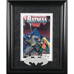 Framed Detective Comic Featuring Batman Comic Book