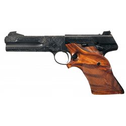 Master Engraved Colt 2nd Model Woodsman Match Target Semi-Automatic Pistol