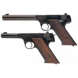 Collector's Lot of Two High Standard Pistols