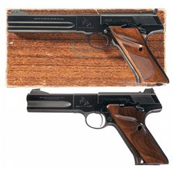 Collector's Lot of Two Colt Woodsman Match Target Semi-Automatic Pistols
