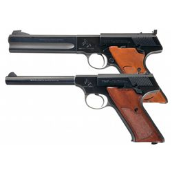 Two Colt Semi-Automatic .22 Caliber Pistols