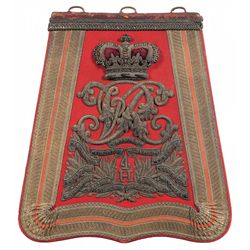 4th (The Queen's Own) Hussars Officer's Dress Sabretache