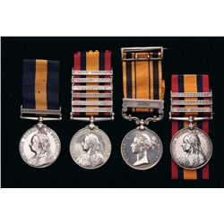 Collector's Lot of 4 British South Africa War Medals