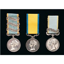 Collector's Lot of British Crimean War Medals
