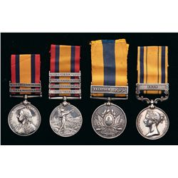 Collector's Lot of British Africa Medals