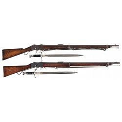 Two Enfield Martini-Henry Single Shot Rifles