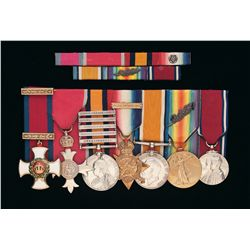 Grouping of British Medals Including Distinguished Service Order Awarded to Lieutenant Colonel Archi