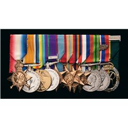 Grouping of World War I and II British Medals Awarded to Major R.M.S. Barton, 6th Gurka Rifles