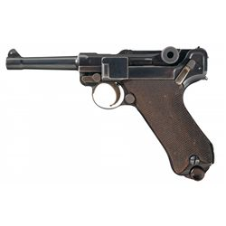 DWM 1923 Commercial SAFE and LOADED Variant Luger Pistol