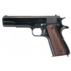 Exceptional and Rare World War II U.S. Singer Manufacturing Company Model 1911A1 Semi-Automatic Pist