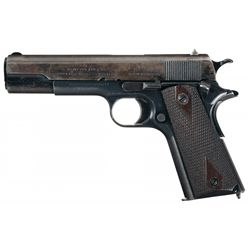 World War I Colt Model 1911 U.S. Army Semi-Automatic Pistol