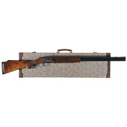 Factory Engraved Gold Inlaid Winchester Model 101 Pigeon Grade Over/Under Trap Shotgun with Case