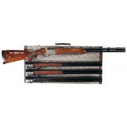Excellent Winchester Model 101 Diamond Grade Over/Under Four Barrel Set Skeet Shotgun