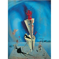Apparatus and Hand- Dali - Limited Edition on Canvas