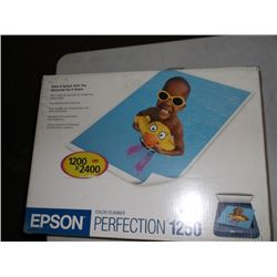Epson scanner model 1250 in box