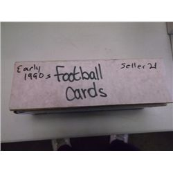 Early 1990s Football cards Aprox. 300 cards