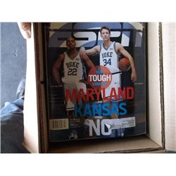 Box of Misc. magazines sports, booklets, and other collectibles